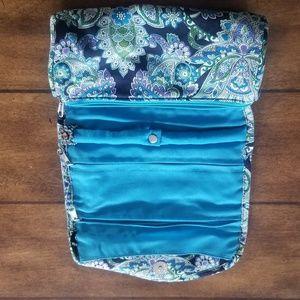Handbags - NWOT travel case blue floral